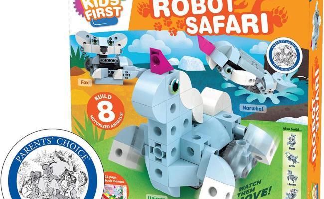 Robot Safari Toys 2 Learn