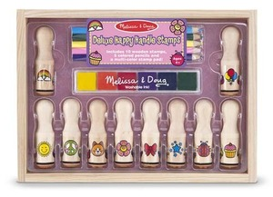 Melissa and doug wooden handle deluxe stamps