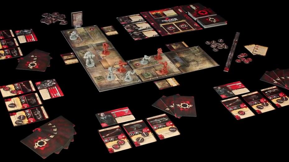 Gears of War le plateau