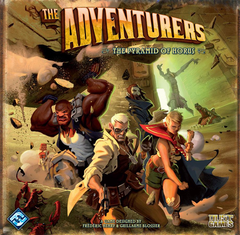 the adventurers la pyramide d'Horus