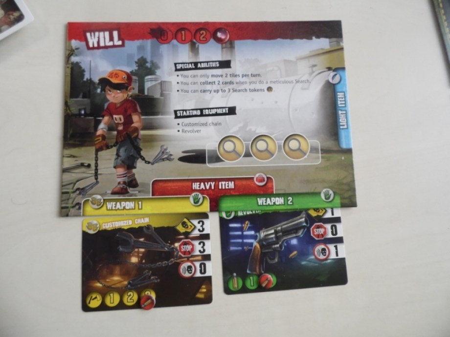 zombie 15 carte personnage