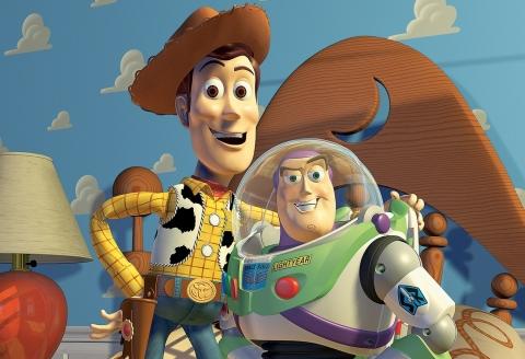 Toy Story 4 - Buzz et Woody