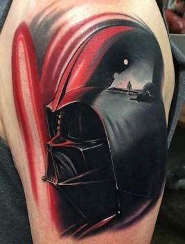 Nick Peirce best of tattoo star wars darth vader