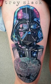 Troy Slack best of tattoo star wars darth vader