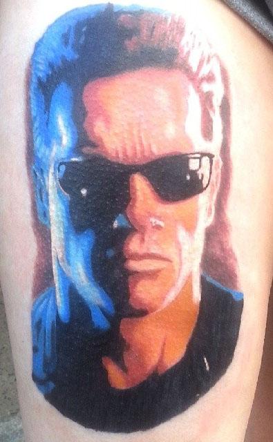 Paul Hanford best of tattoo geek terminator