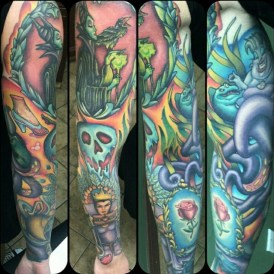Alex Rockoff best of tattoo geek peau villains