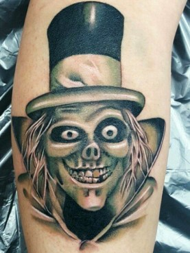 Jessy D best of tattoo geek peau villains