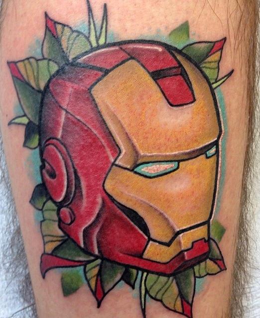 Kyle Behr best of tattoo iron man