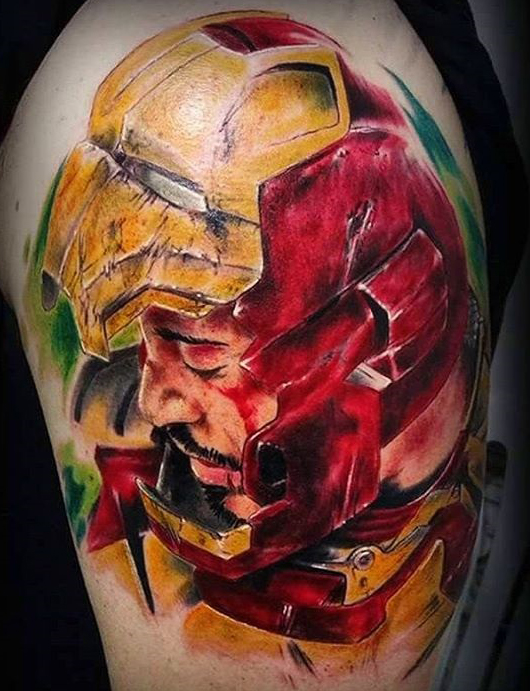 Emanuele Persanti best of tattoo iron man