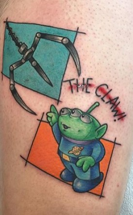 Jess Helfox Best of Tattoo Toy Story