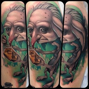 Kelly Doty Best of Tattoo Harry Potter