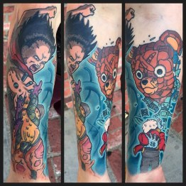 Marc Durrant best of tattoo geek akira