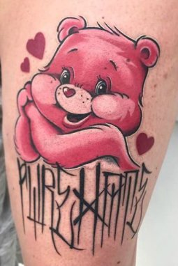 Jools best of tattoo care bears bisounours