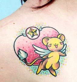 Lunie Chan Best of Tattoo Sakura Card Captor manga tattoo geek
