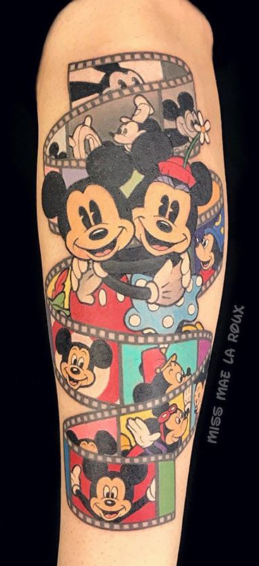 Mae La Rouxbest of tattoo walt disney mickey
