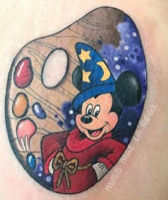 Mae La Roux best of tattoo walt disney mickey
