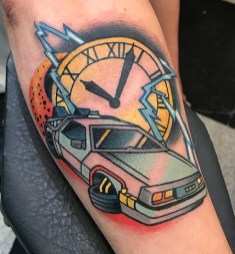 Ander Rage geek dans la peau best of tattoo back to the future