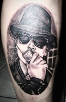 Bruno Amaral geek dans la peau best of tattoo back to the future