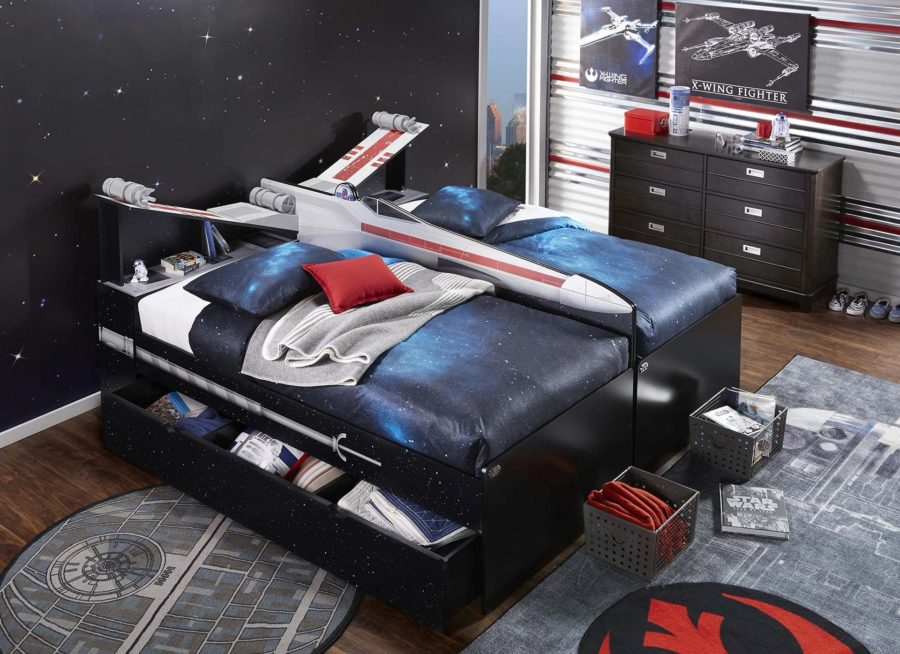 Tom's Selec - lit x-wing