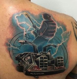 Victor Bellinati geek dans la peau best of tattoo back to the future