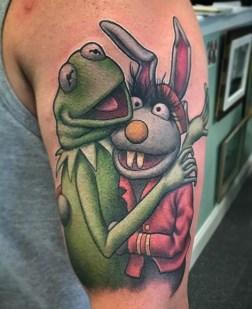 Chris Libby muppets tattoo geek