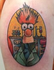 Emma muppets tattoo geek