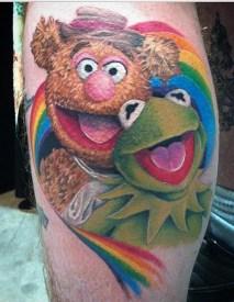 Katrina muppets tattoo geek