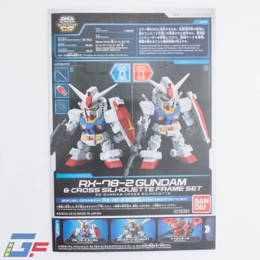 RX-78-2 SD-CS BANDAI GALLERY TOYSANDGEEK @Gundamfascination