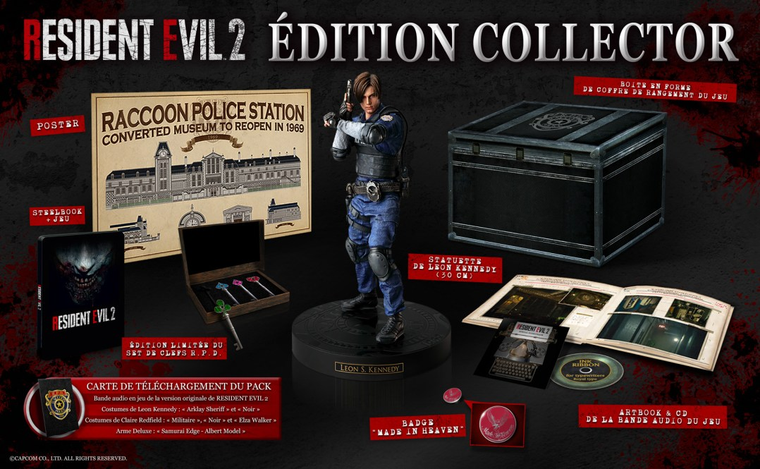 Resident Evil 2 Edition Collector