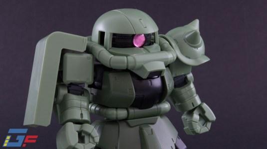 ZAKU II SD CS SILOUHETTE BANDAI TOYSANDGEEK @Gundamfascination