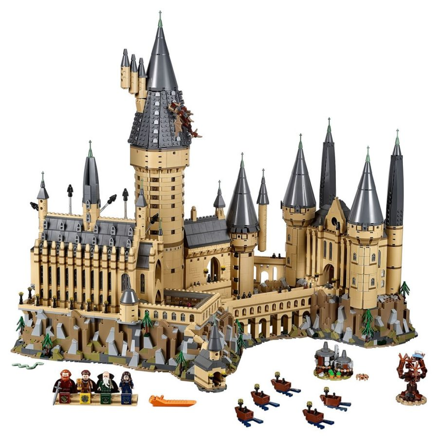 Tom's Selec - chateau poudlard lego