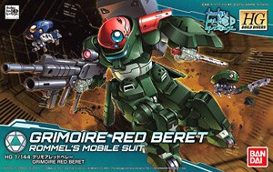 GRIMOIRE RED BERET & TILTROTOR PACK