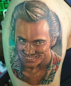 Alvaro Carvajal geek peau best tattoo jim carrey tag