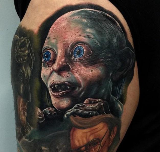 Audie Fulfer jr. LOTR lord of the ring geek tattoo tag