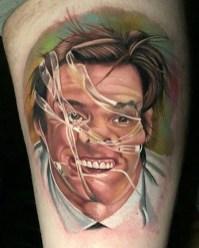 Chris Meighan geek peau best tattoo jim carrey tag