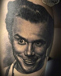 Gug Tattoo Art geek peau best tattoo jim carrey tag