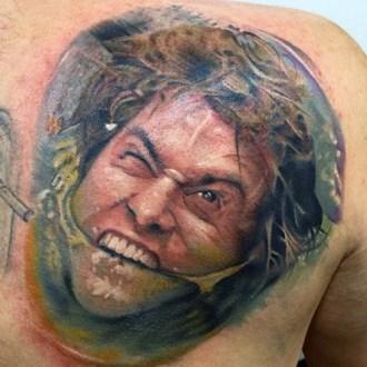 Jesse Allison geek peau best tattoo jim carrey tag