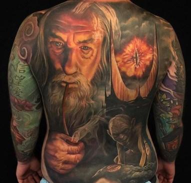 Jesse Rix LOTR lord of the ring geek tattoo tag