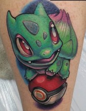 Adam Aguas best of tattoo tag geek pokemon