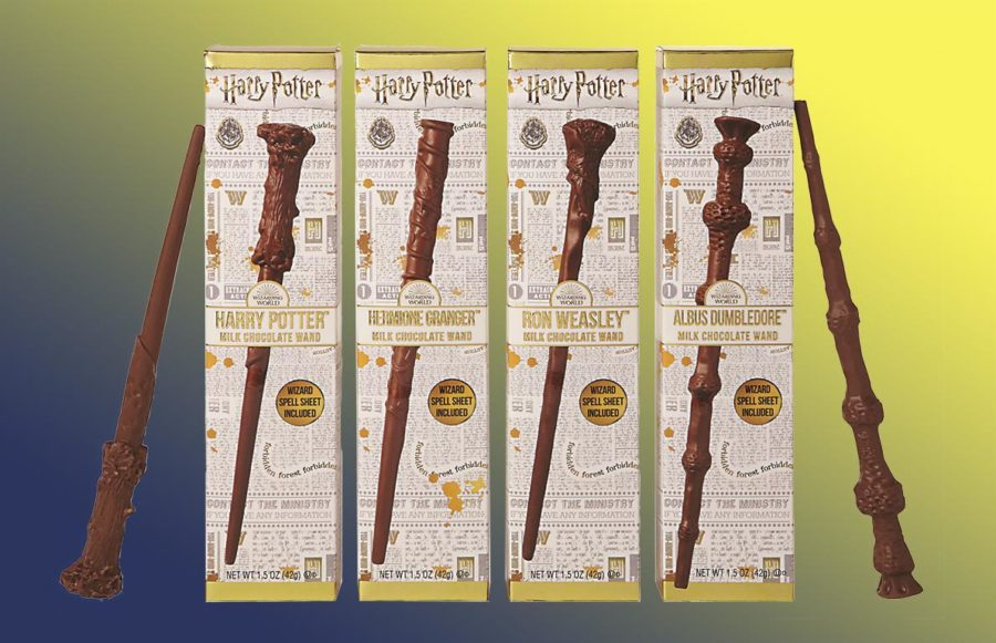 Tom's Selec - baguettes harry potter en chocolat