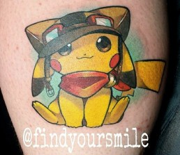 Russell Van Schaick best of tattoo tag geek pokemon
