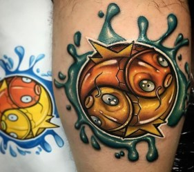 Josh Herman best of tattoo tag geek pokemon
