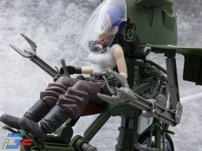 FIGURE RISE MECHANICS BULMA'S VARIABLE N°19 MOTORCYCLE TRIKE MODE BANDAI GALLERY TOYSANDGEEK @Gundamfascination-9