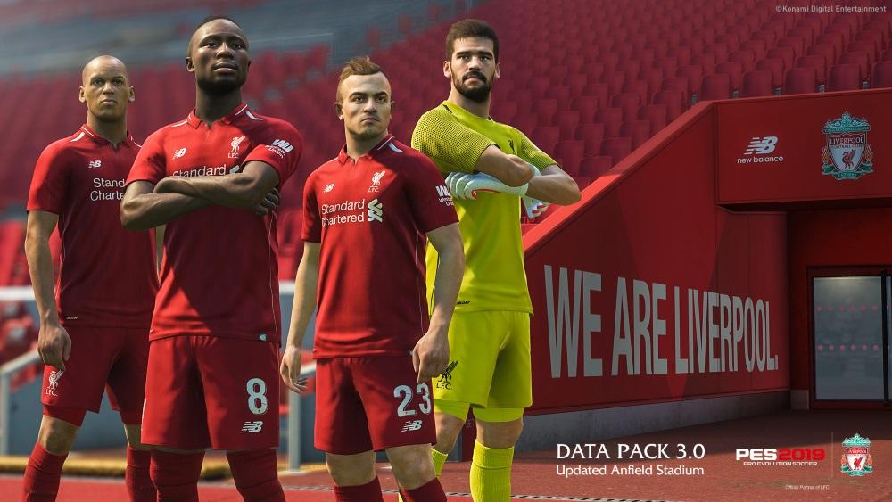 PES 2019 Liverpool