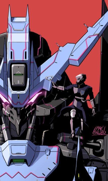 Gundam Vidar par Ippei Gyoubu 1/2