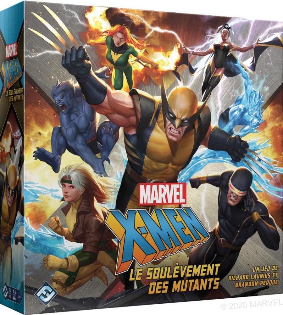 x men le soulevement des mutants