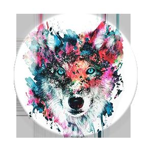 Wolf PopSocket Toy Sense
