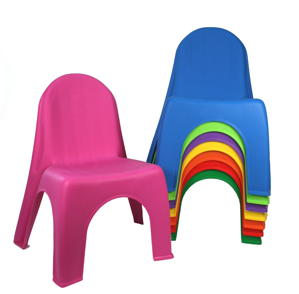 kids stackable chairs black rattan chair stacking assorted colours toy sense