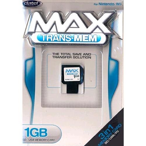 Prodotto: GACC1801 - WII MEMORY CARD 1GB SD/USB-DATEL - _MARCHE V.