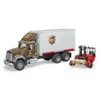 Mack Granite UPS Logistik-LKW   Bau- und Nutzfahrzeuge ...